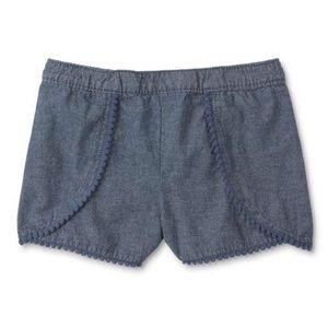 Girls Paper Bag Shorts